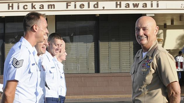 Terry O'Quinn behind the scenes at 'Hawaii Five-0' in 2011 -- CBS