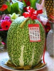 真有北瓜!貌似西瓜肉似冬瓜是種南瓜