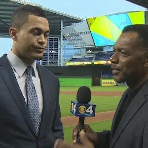 WebExtra: Jim Berry Goes One-On-One With Giancarlo Stanton