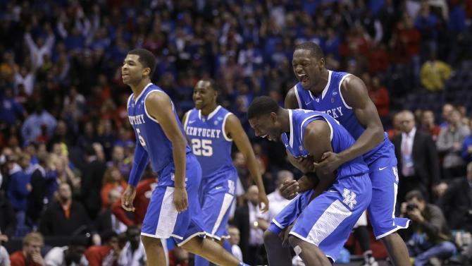 Kentucky took the hard way to verge of Final Four