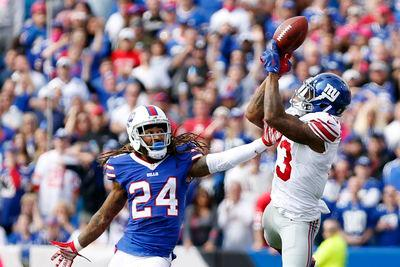 Bills players call out Odell Beckham Jr. for throwing punches during game
