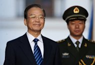 China&#39;s Premier Wen Jiabao is seen in June 2012. Wen said on Saturday that China needed more policies to stabilise the country&#39;s exports, Dow Jones Newswires reported