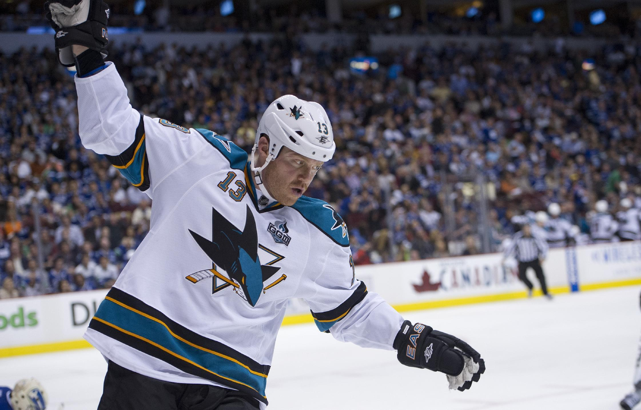 NHL - Sharks forward Torres banned 41 games for hit to head