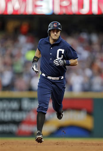 Chisenhall hits grand slam in 5-3 win