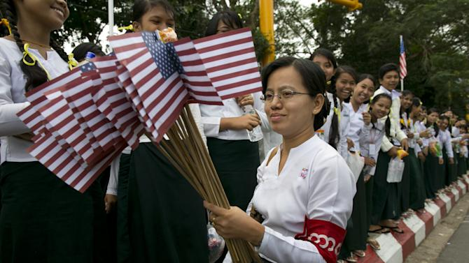 US President Obama Makes Historic Visit To Burma