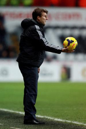 Soccer - Barclays Premier League - Swansea City v Hull City - Liberty Stadium