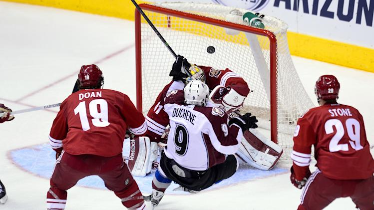 NHL: Colorado Avalanche at Phoenix Coyotes