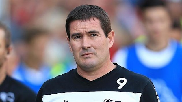 Nigel Clough was sacked as Derby manager last month
