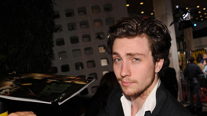 Kick Ass LA Premiere 2010 Aaron Johnson