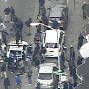 Baltimore police, protesters clash after Freddie Gray funeral
