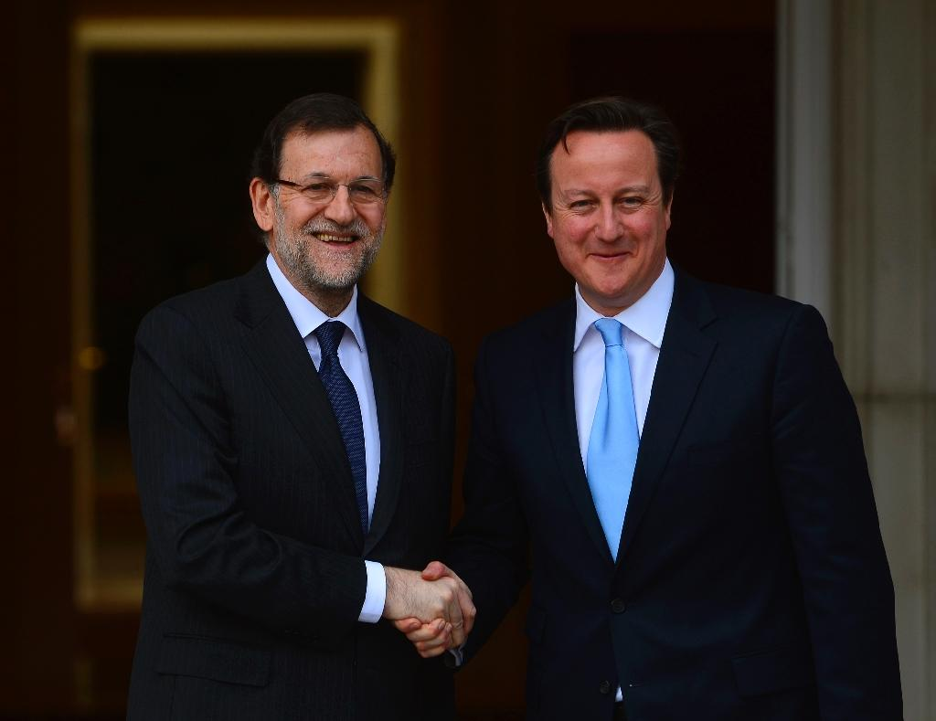 British, Spanish PM urge 'real' reform of eurozone