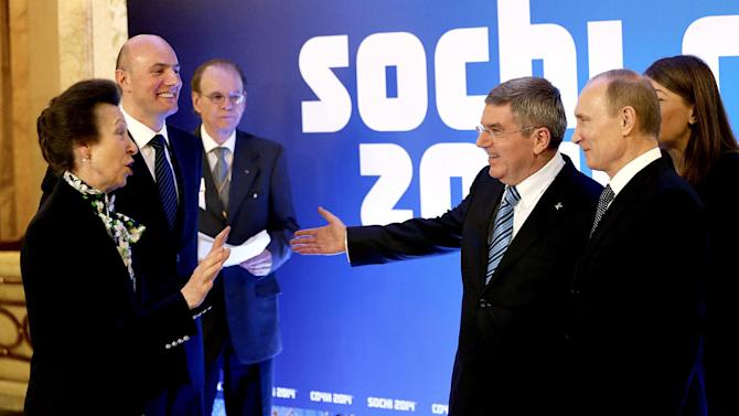 Sochi says 65 world leaders coming to Olympics