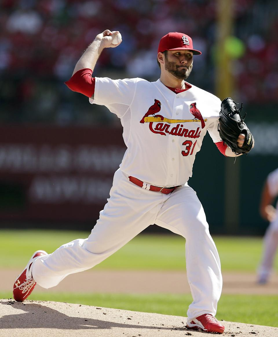 Miller, Lynn ready in Cards' bullpen for Game 5