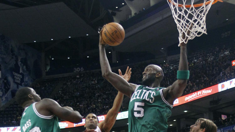 NBA: Boston Celtics at Toronto Raptors