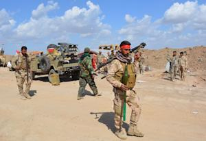 Some 30,000 Iraqi troops and militia are taking part…