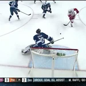 Ben Bishop robs Alfredsson with the pad