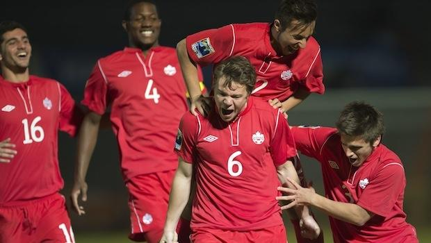 U-20s: Piette savors rare goal for Canada to the fullest