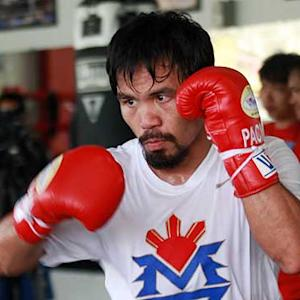 Pacquiao on Typhoon Haiyan, upcoming Rios fight