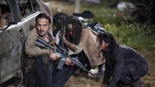 A scene from the Season 3 finale of 'The Walking Dead' -- Gene Page/AMC