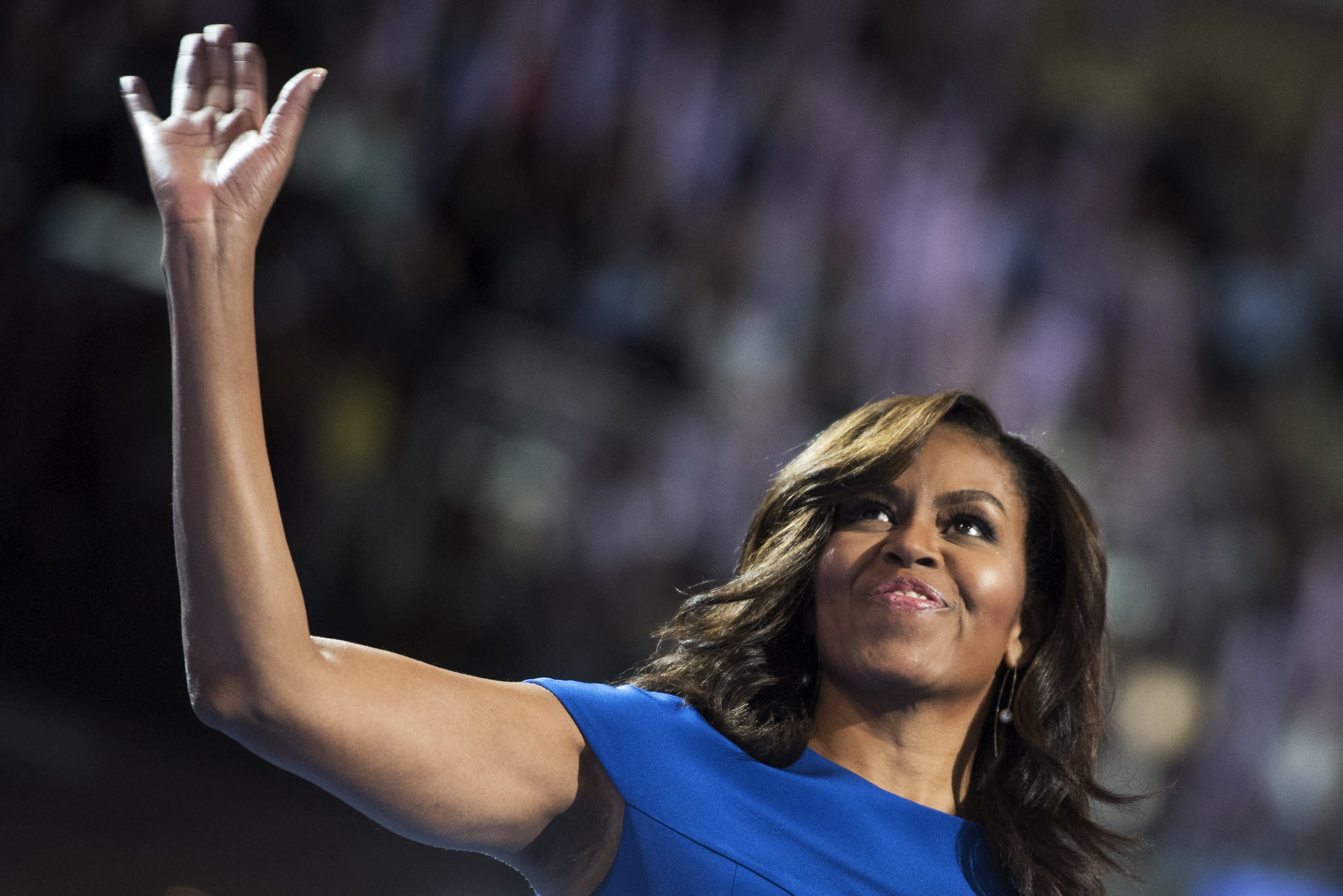 Michelle Obama: 'We Need an Adult in the White House""