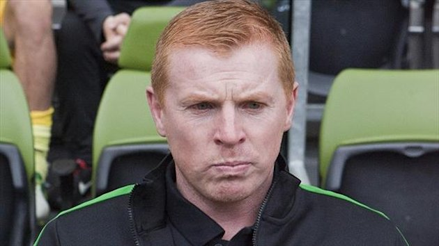 Neil Lennon saw his side crash to defeat in Kazakhstan