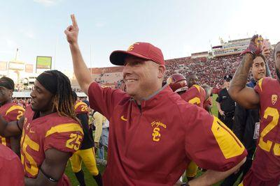 USC hiring Clay Helton as full-time head coach, thus cutting out the middle man