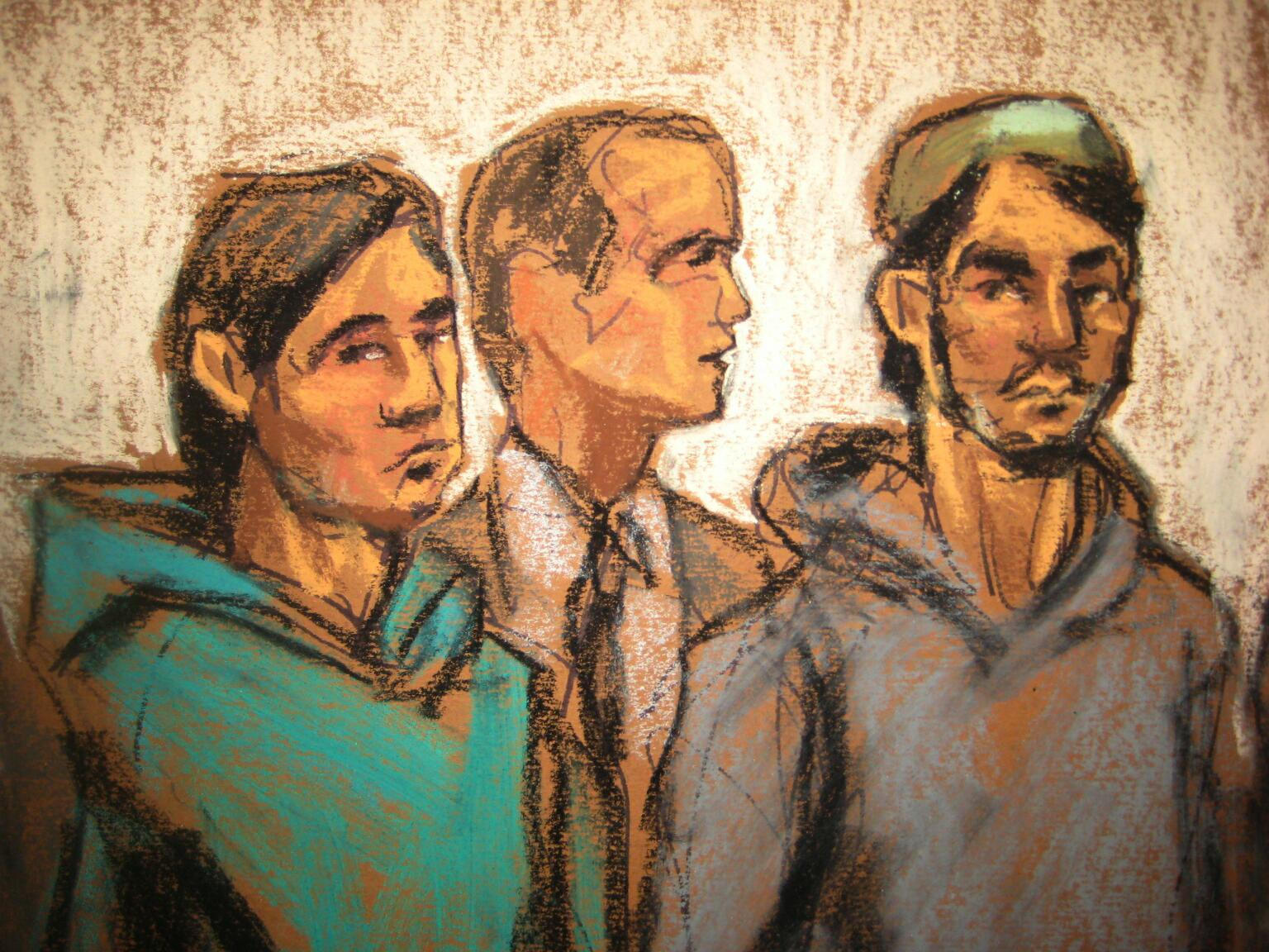 Three Brooklyn men accused in Islamic State plot