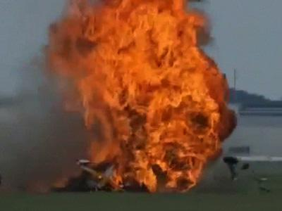 NTSB: No Causes Ruled Out for Air Show Crash