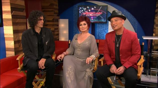 Howard, Sharon & Howie Talk America's Got Talent Live Shows: Are Some Acts Too Dangerous?  -- Access Hollywood