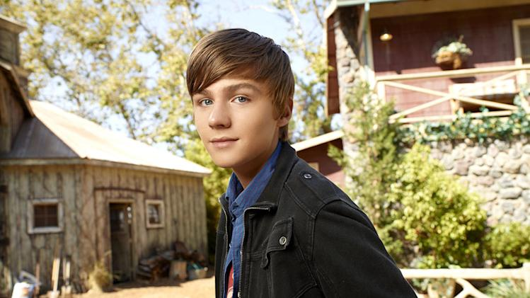 "Miles Heizer as Drew Holt in ""Parenthood."""