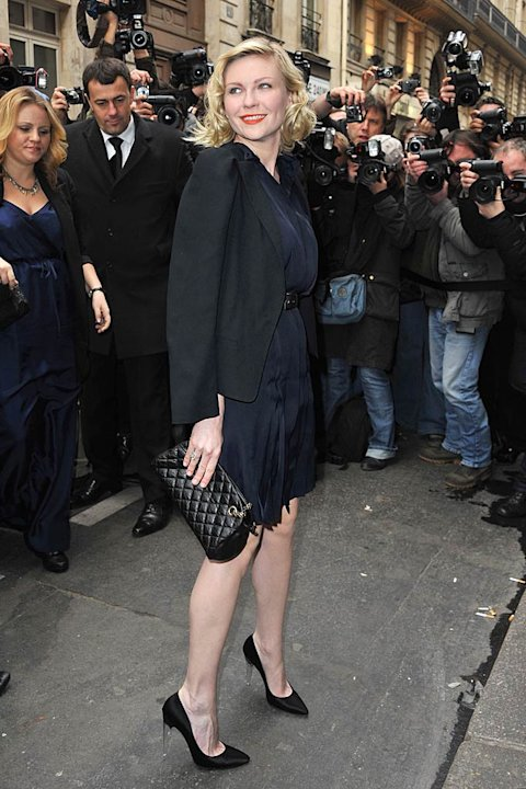 Kirsten Dunst Paris Fshn Week