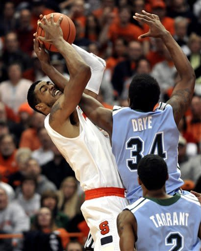 No. 1 Syracuse beats Tulane 80-61 to move to 13-0