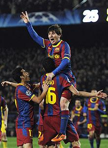 'Lucky' Barca marches closer to title