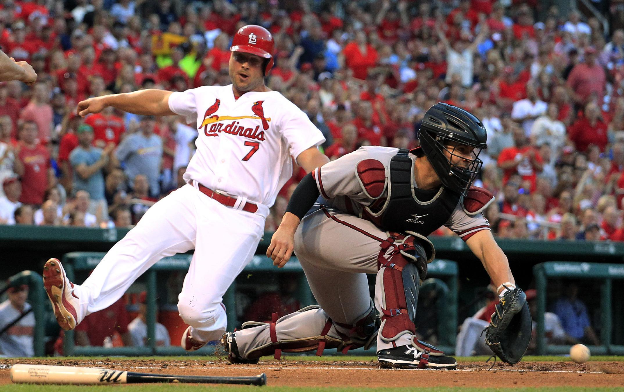 Garcia gets 1st win, Cardinals beat Diamondbacks 6-4