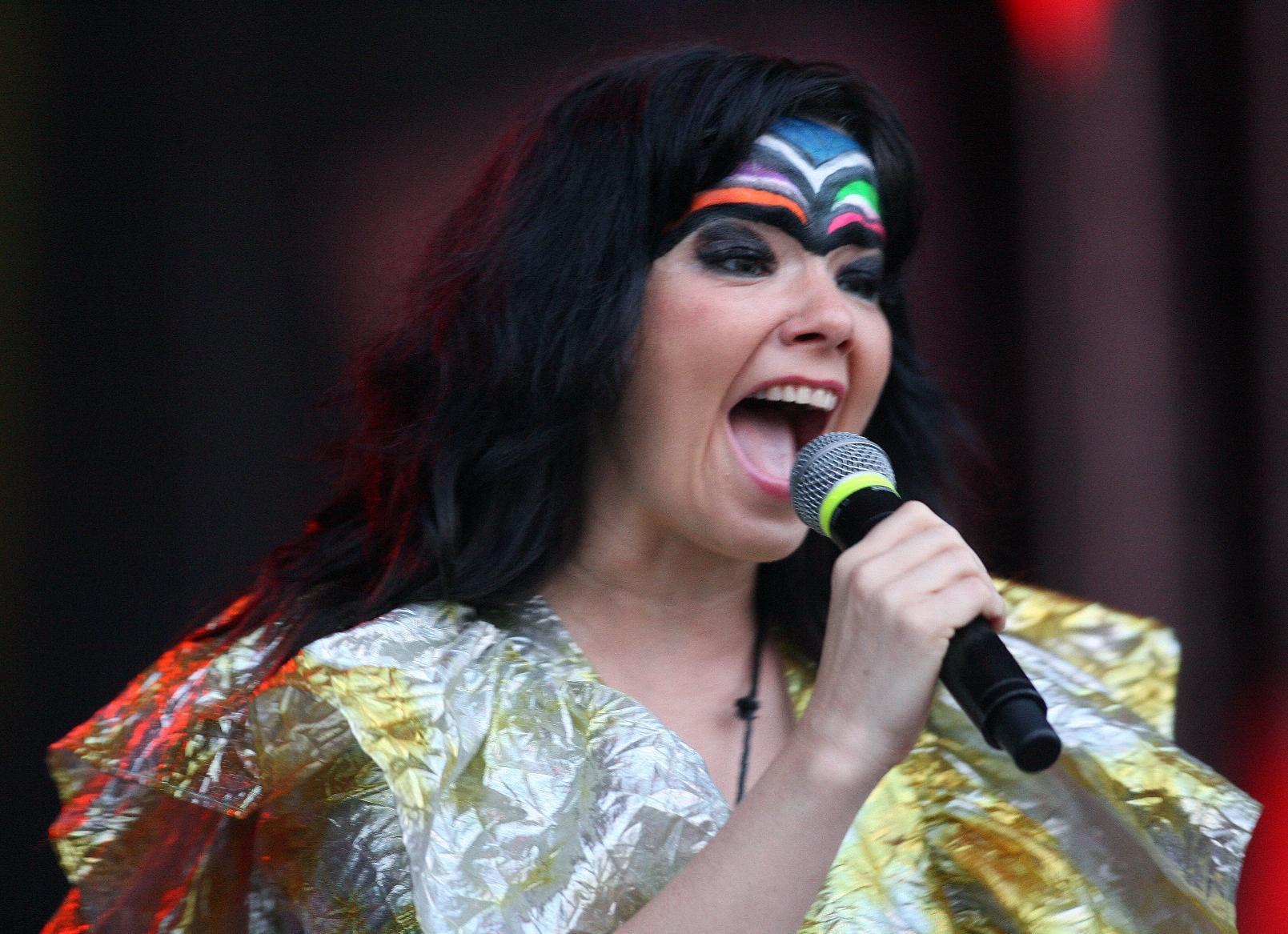 Bjork won't stream breakup album