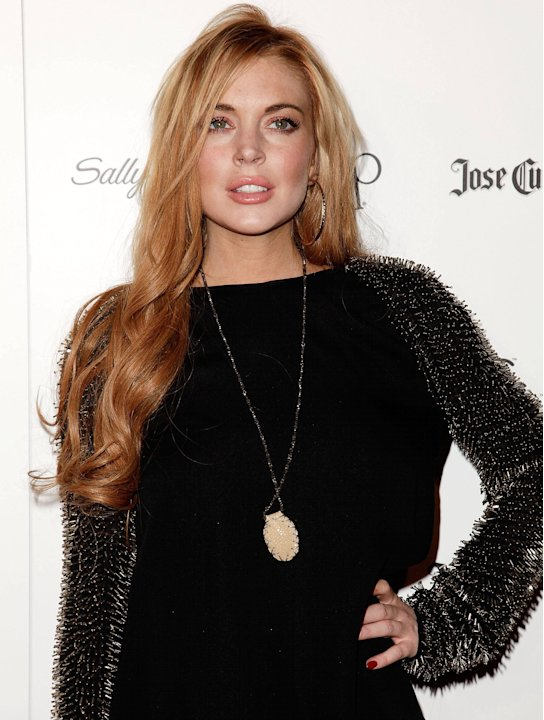 Lindsay LohanStar Magazine's All Hollywood Event held at AV Nightclub - Arrivals Hollywood, California - 24.04.12 Mandatory Credit: Brian To/WENN.com