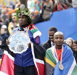 Mutai, Jeptoo of Kenya win titles at NYC Marathon