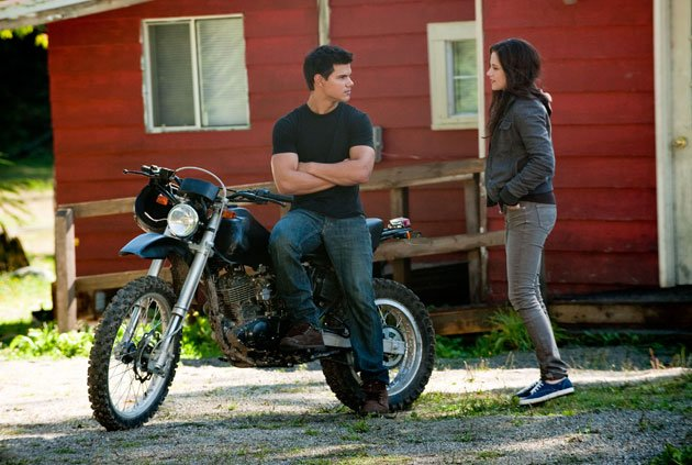Twilight Sexiest Moments: Jacob does his best to woo Bella on his turf in Eclipse.