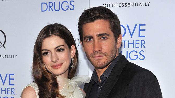 Love and Other Drugs 2010 NYC Screening Anne Hathaway Jake Gyllenhaal