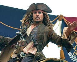 Johnny Depp as Jack Sparrow Walt Disney Pictures