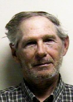 In this photo provided byUtah County Sheriff's Office,  shows a roughly 71-year-old man with blue eyes and gray hair but no name. Booked into the Utah County Jail as John Doe after being arrested for trespassing in a parking garage, authorities say his true identity remains a mystery. (AP Photo/Utah County Sheriff's Office)