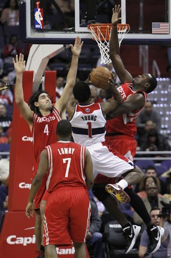 Martin's 25 lead Rockets over Wizards