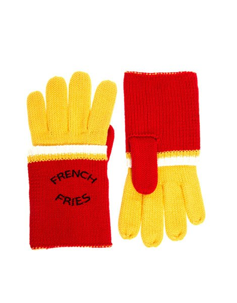 Asos French fries gloves, $17.59, asos.com