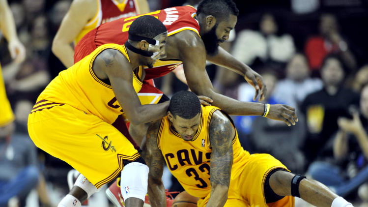 NBA: Houston Rockets at Cleveland Cavaliers