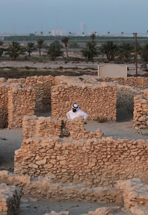 In this picture taken July 8, 2013, Bahraini archaeologist…