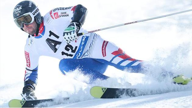 Alpine Skiing - Fanara quickest in Soelden giant slalom first run