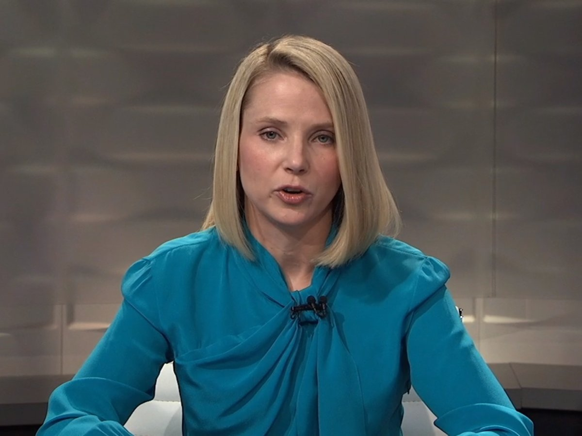 marissa mayer yahoo earnings call