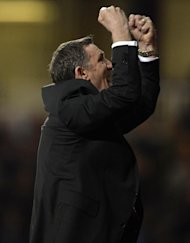 Tony Mowbray was thrilled with his team's display in front of a bumper Riverside crowd