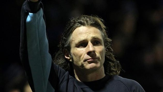 Wycombe boss Gareth Ainsworth has called time on his career.