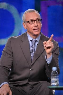"""Dr. Drew Pinsky speaks onstage during the """"Dr. Drew"""" panel at the 2011 January Turner TCA at The Langham Hotel, Pasadena, on January 6, 2011 -- WireImage"""